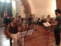 Cortona rehearsal